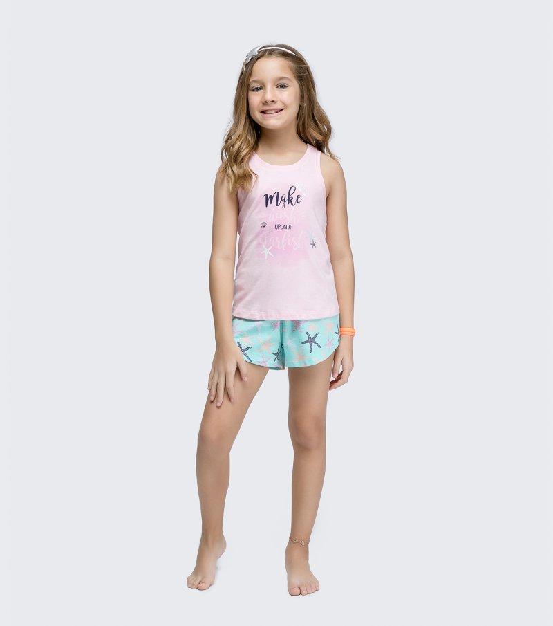 Short Doll Regata Nadador Infantil - 67417