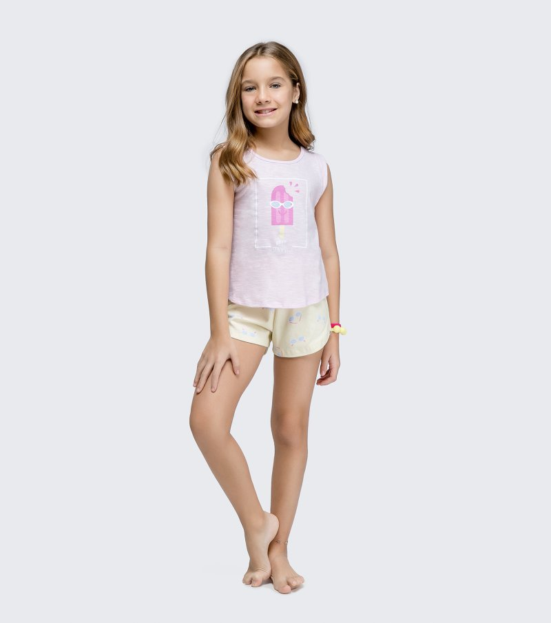 Short Doll Regata Infantil - 67421