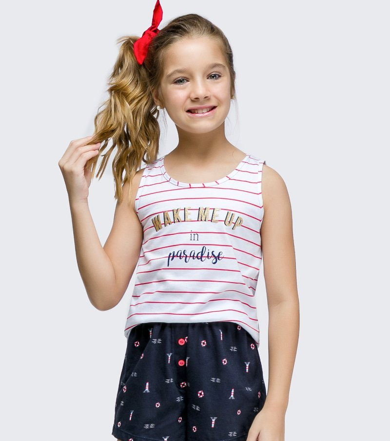 Short Doll Regata Infantil - 67436