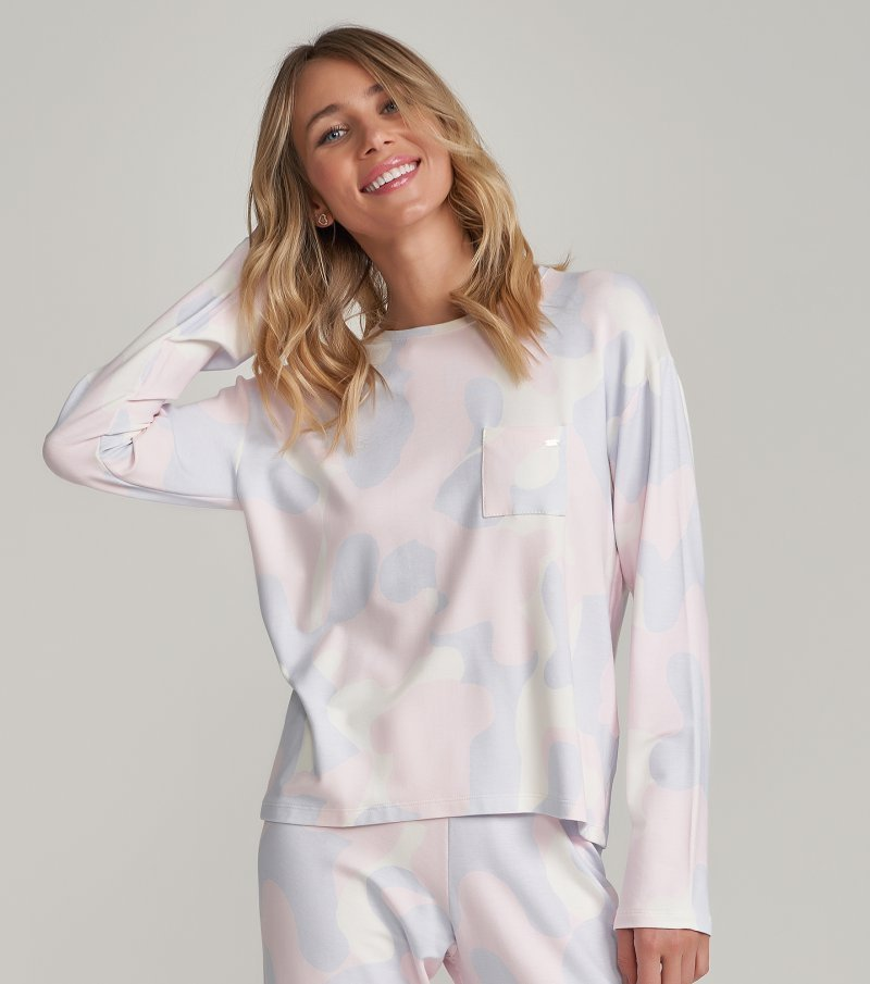 Pijama Manga Longa - 12278