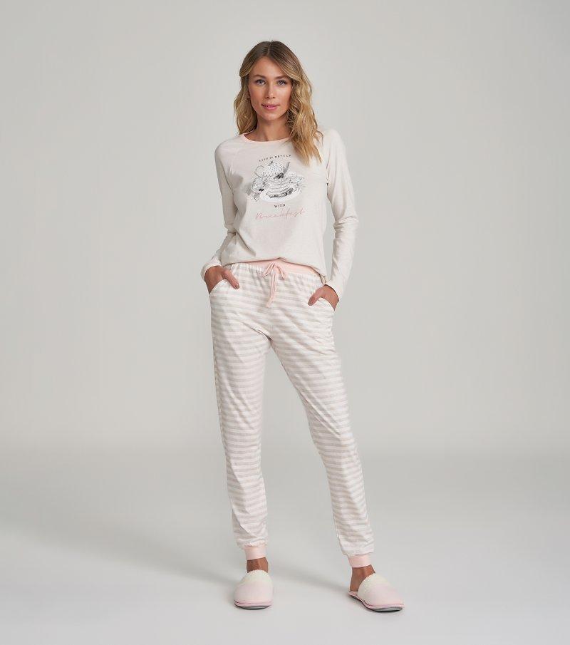 Pijama Manga Longa - 12254