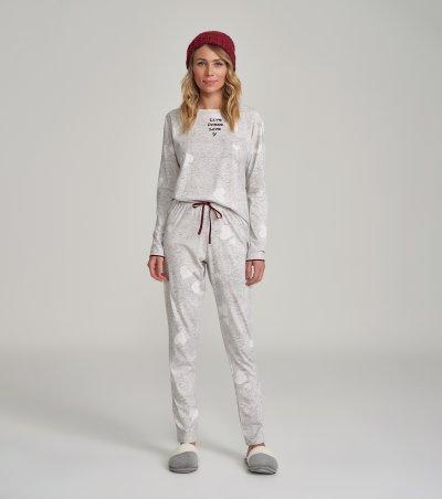 Pijama Manga Longa - 12232