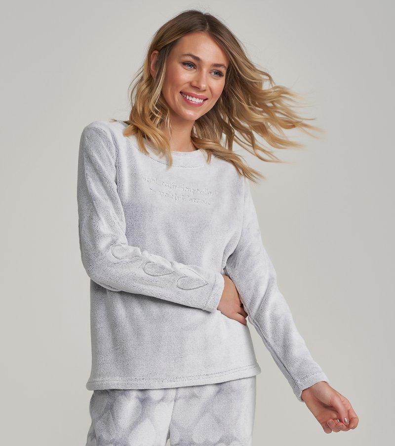 Pijama Manga Longa - 12180