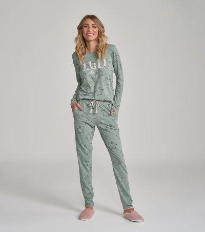 Pijama Manga Longa - 12288