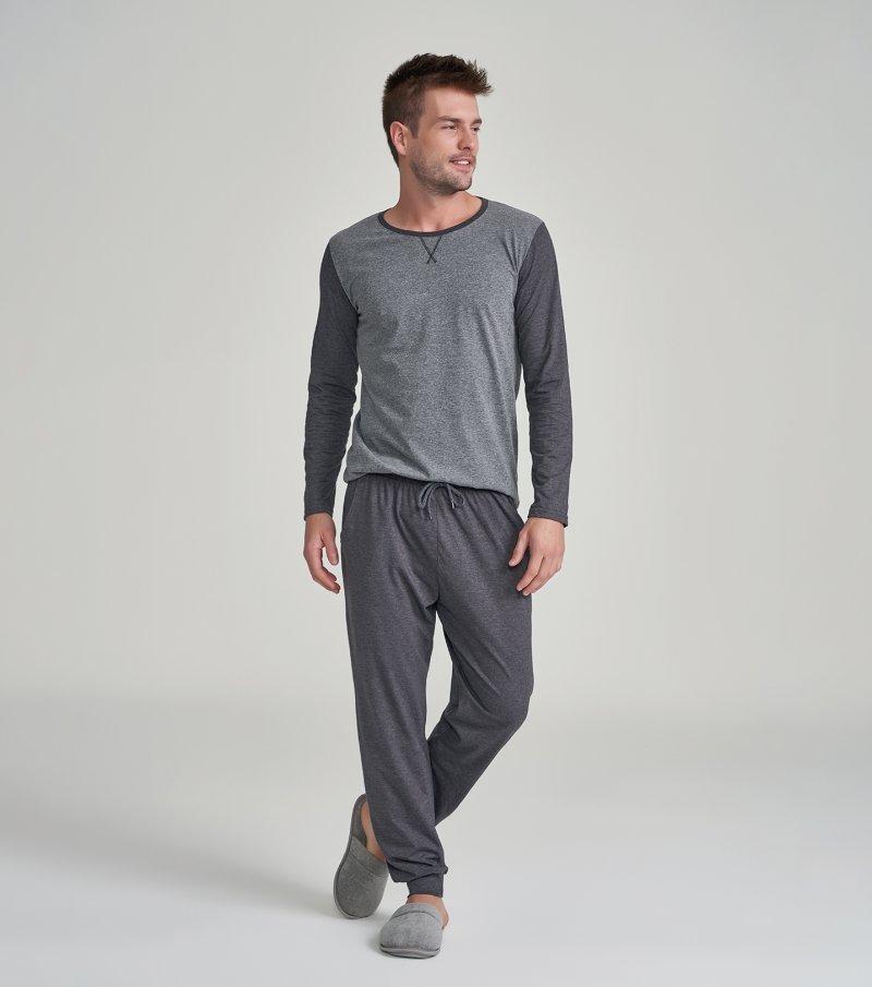Pijama Manga Longa - 30026