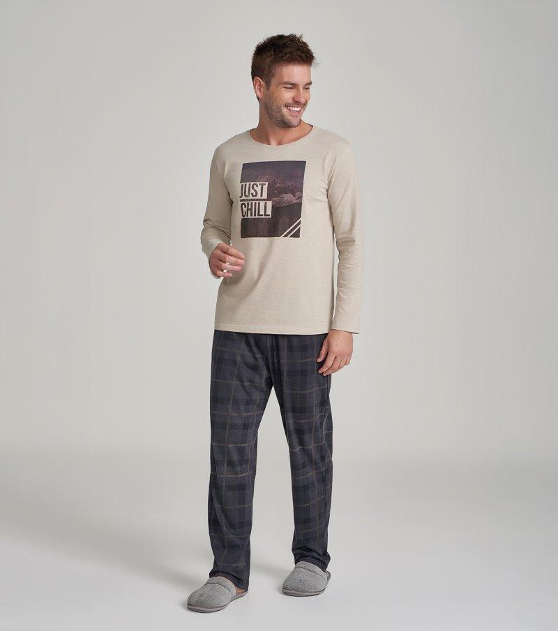 Pijama Manga Longa - 30031