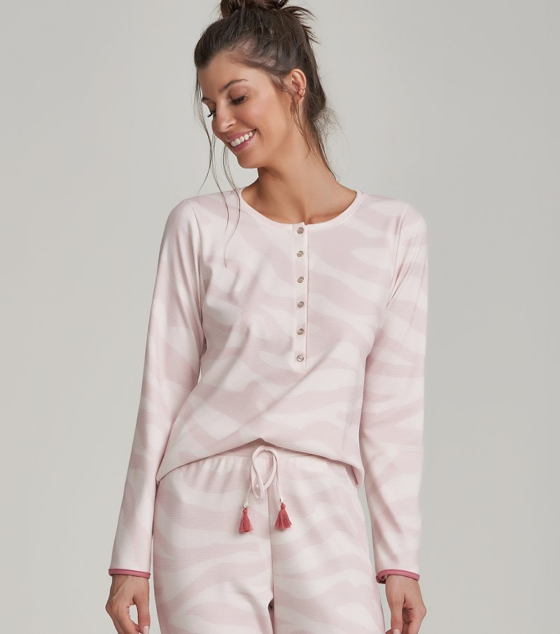 Pijama Manga Longa - 11108
