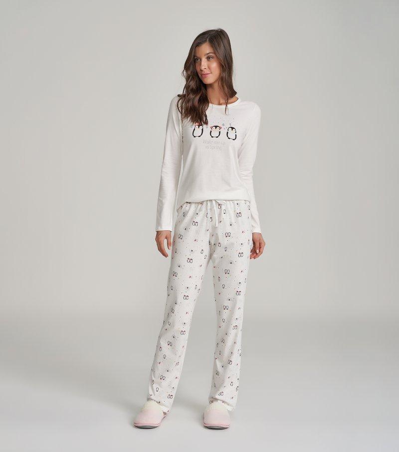 Pijama Manga Longa - 12250