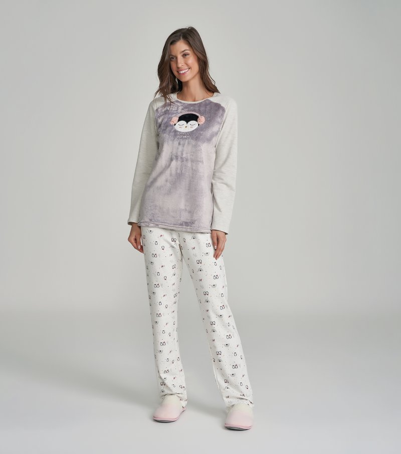 Pijama Manga Longa - 12251