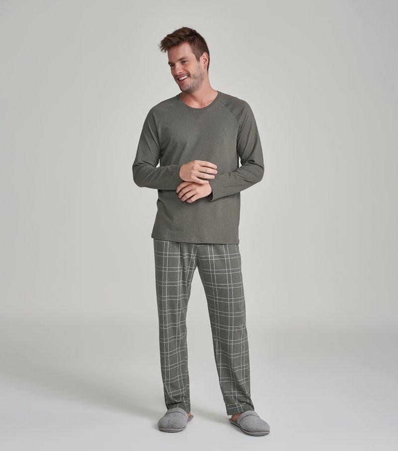 Pijama Manga Longa - 30027