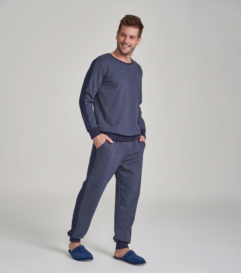 Pijama Manga Longa - 30034