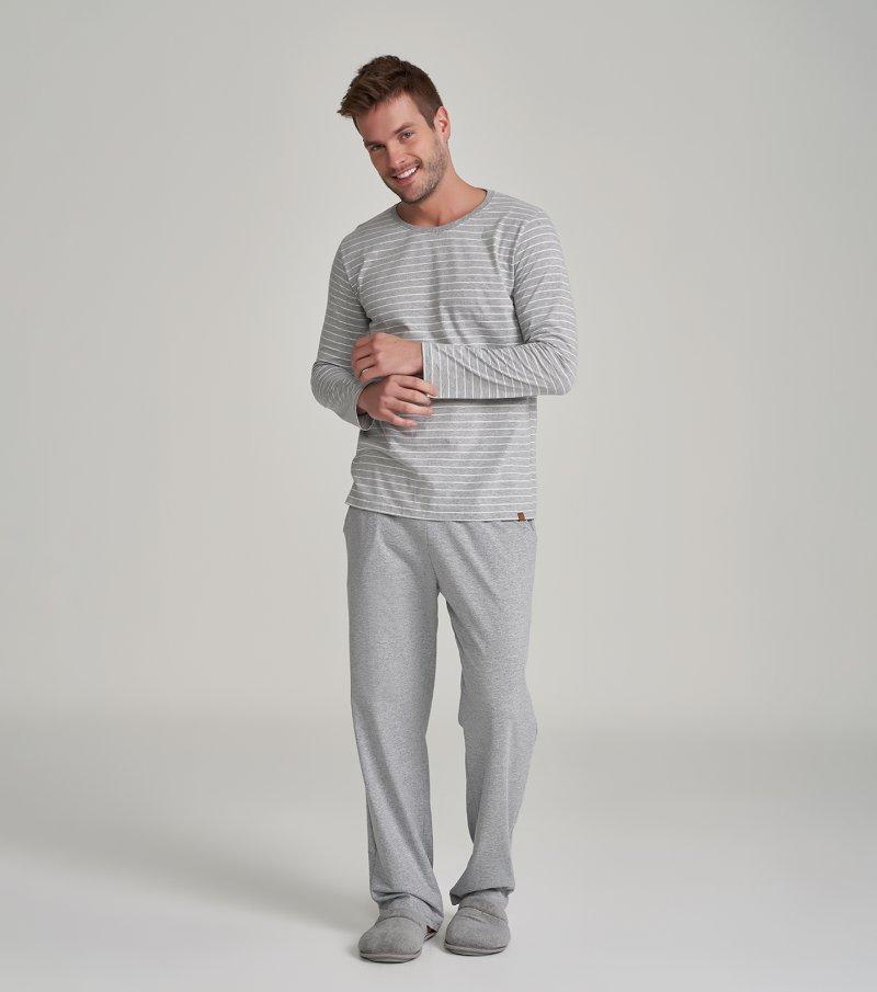 Pijama Manga Longa - 30037