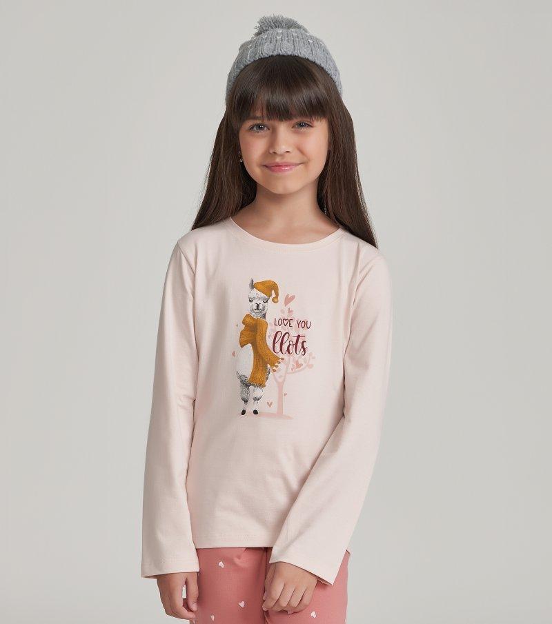 Pijama Manga Longa Infantil - 67468