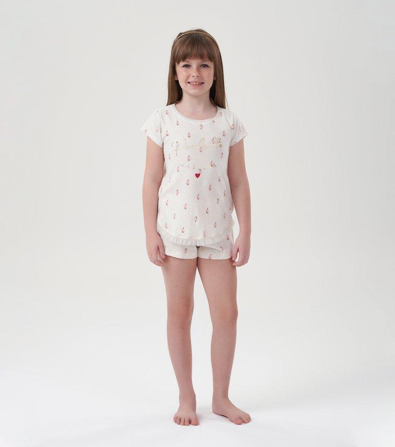 Short Doll Manga Curta Infantil - 67479