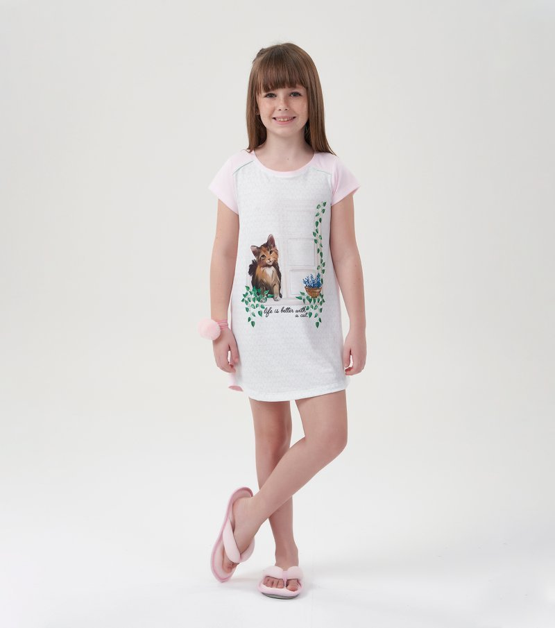 Camisola Manga Curta Infantil - 67489