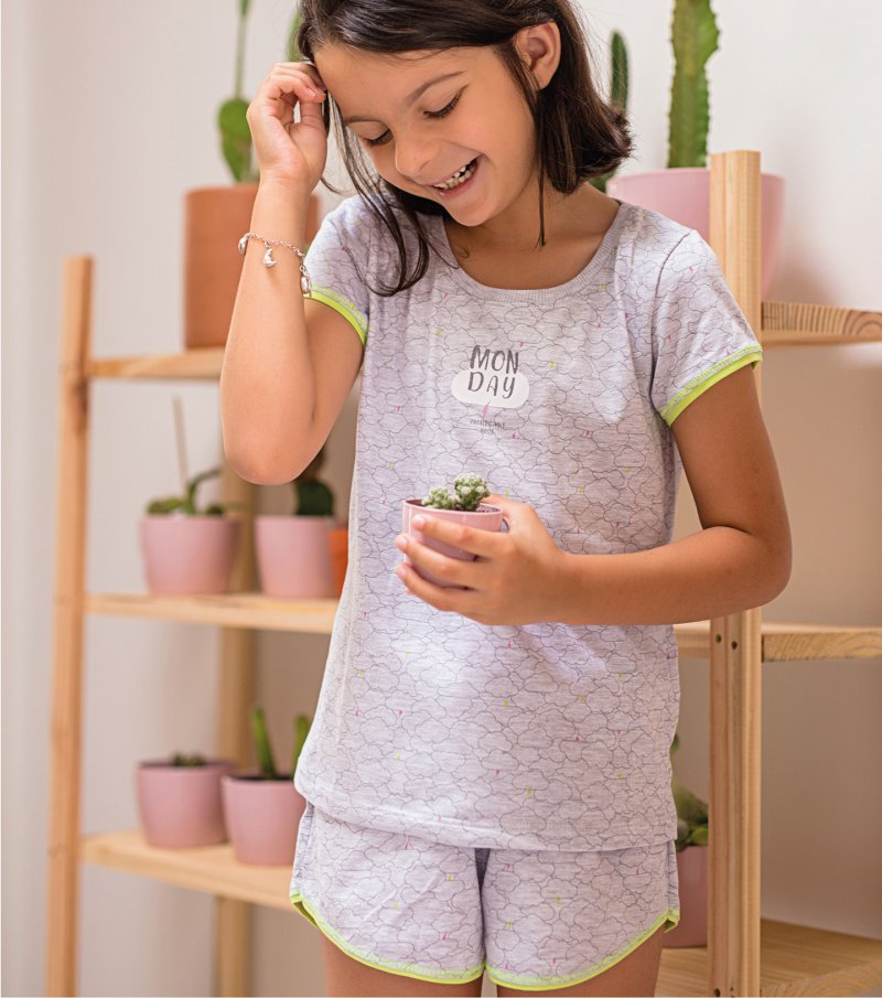 Short Doll Manga Curta Infantil - 67491