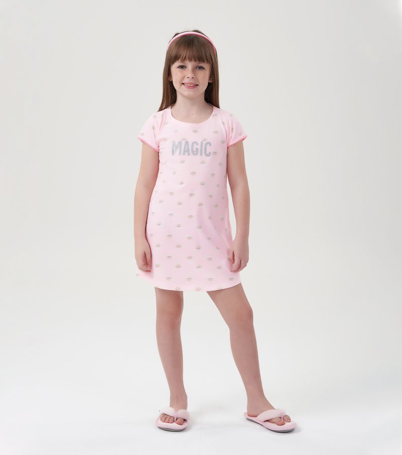 Camisola Manga Curta Infantil - 67500
