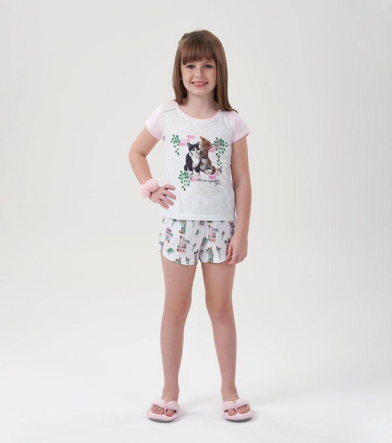 Short Doll Manga Curta Infantil - 67488