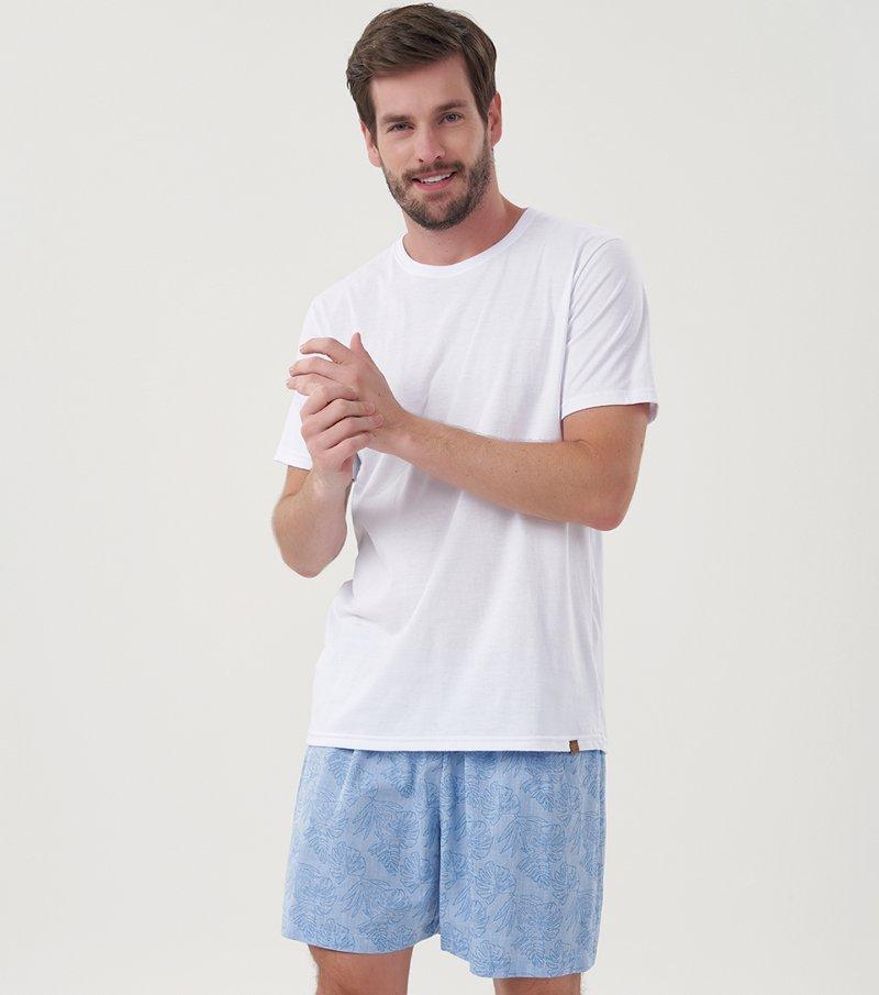 Pijama Manga Curta - 30055