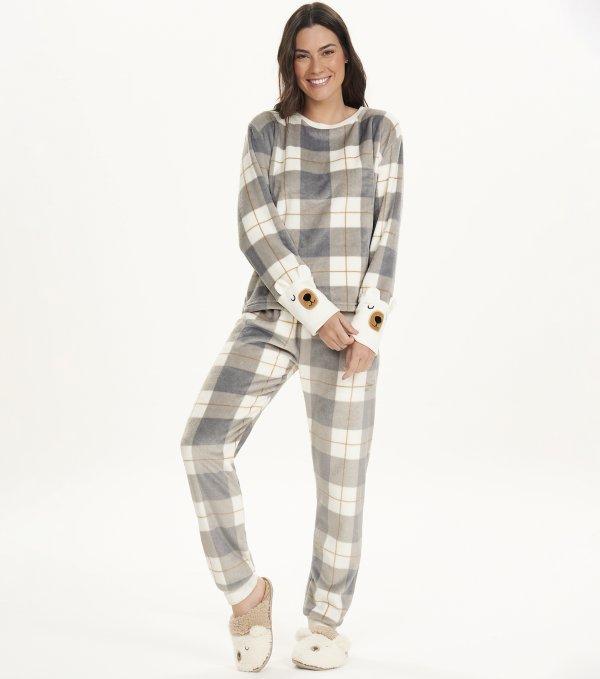 Pijama Manga Longa - 12495