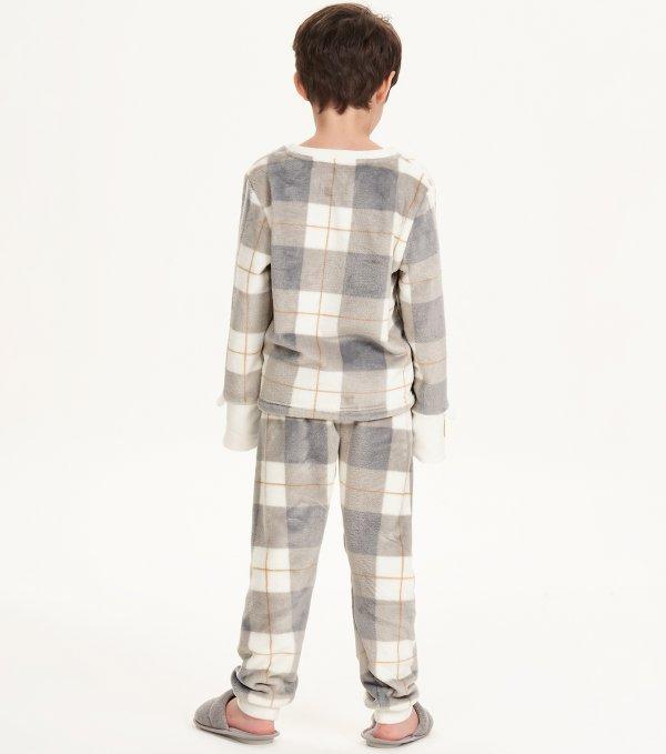 Pijama Manga Longa Infantil - 67505