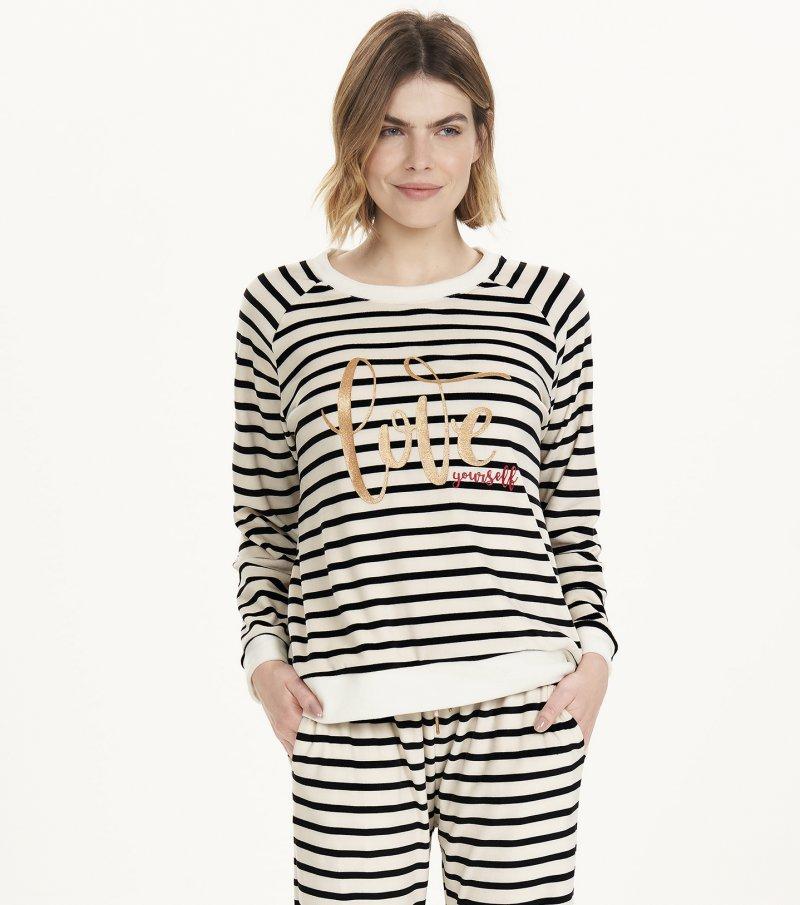 Pijama Manga Longa - 12500