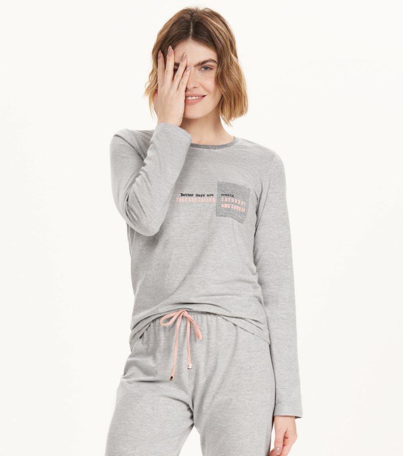 Pijama Manga Longa - 12625