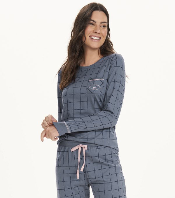 Pijama Manga Longa - 12600