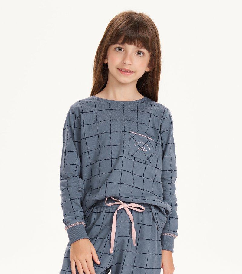 Pijama Manga Longa Infantil - 67513
