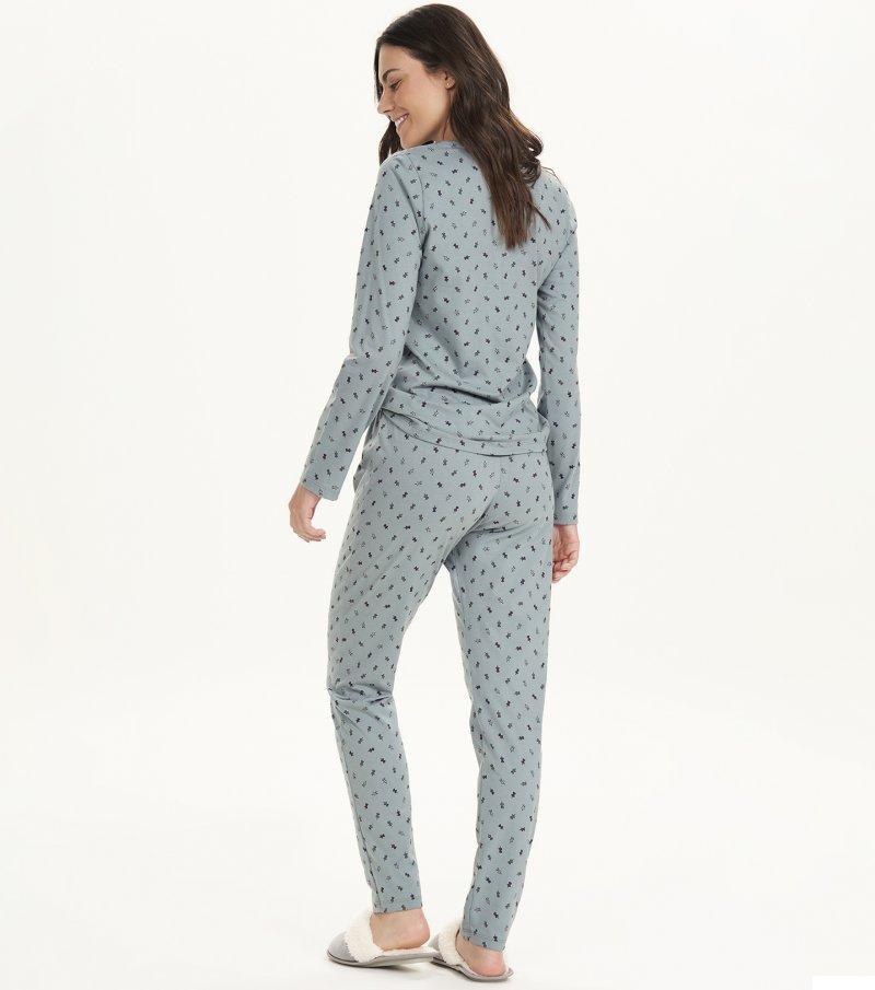 Pijama Manga Longa - 12673