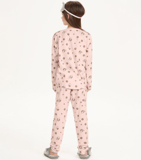 Pijama Manga Longa Infantil - 67509