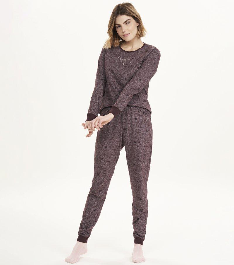 Pijama Manga Longa - 12581