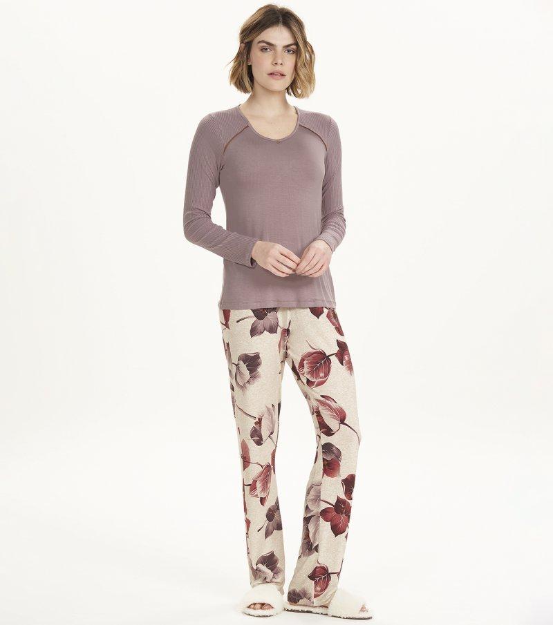 Pijama Manga Longa - 12606