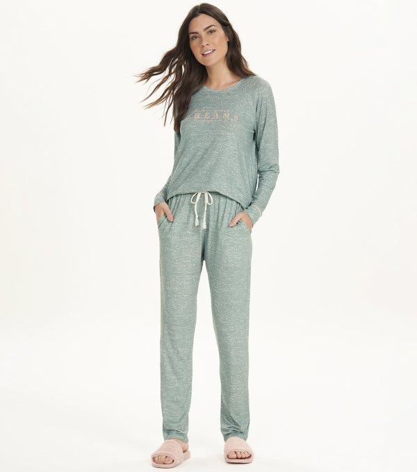 Pijama Manga Longa - 12638
