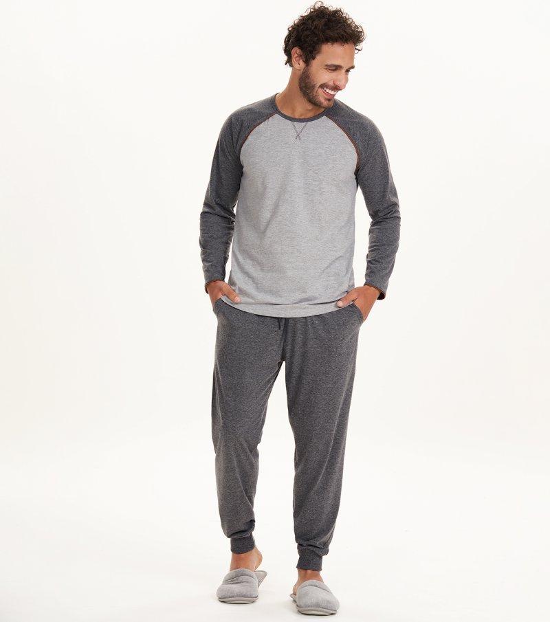 Pijama Manga Longa -30059