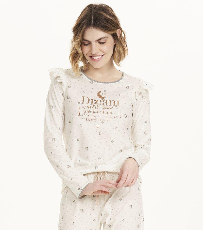 Pijama Manga Longa - 12588