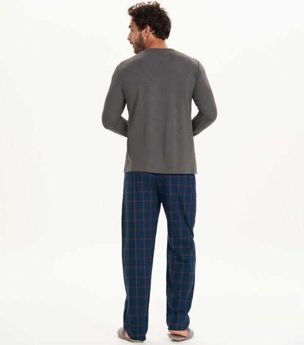 Pijama Manga Longa - 30068