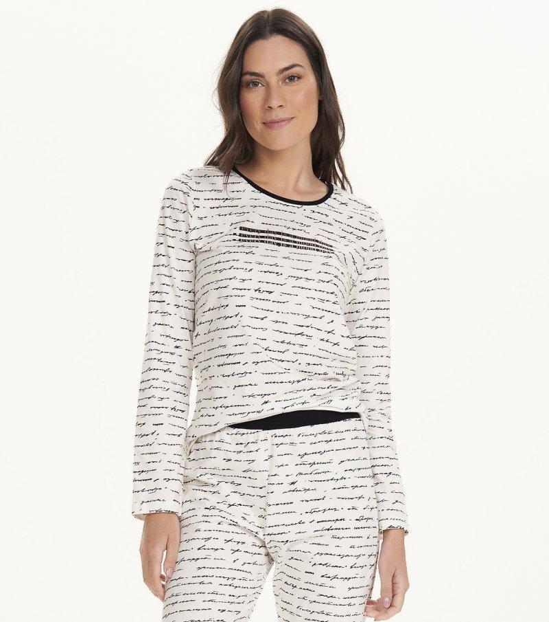 Pijama Manga Longa - 12620