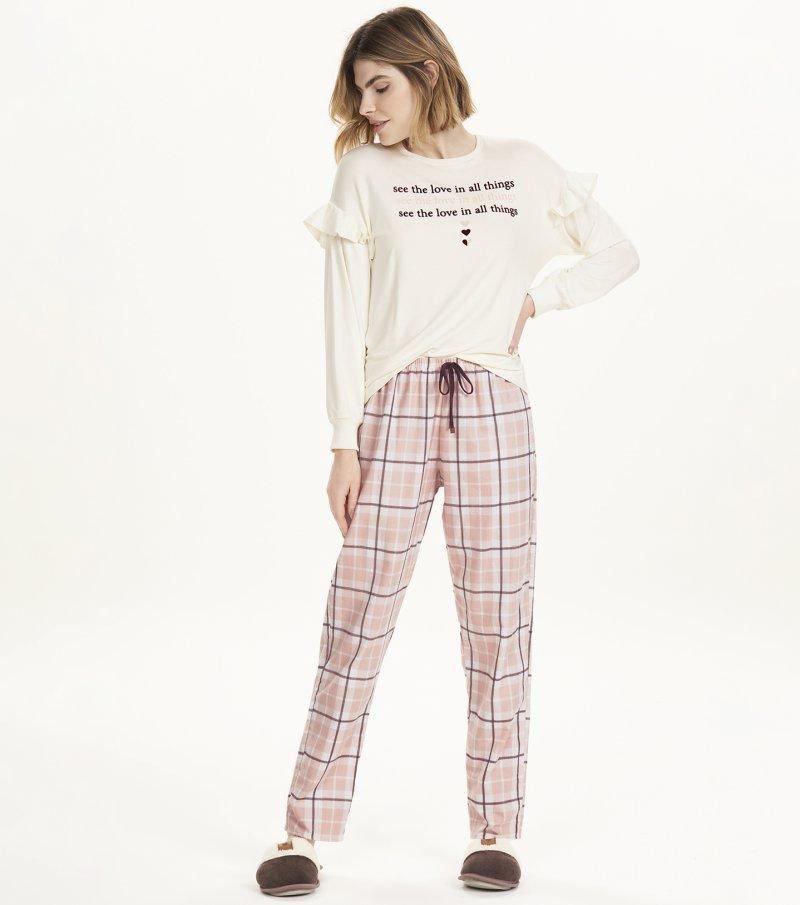 Pijama Manga Longa - 12643