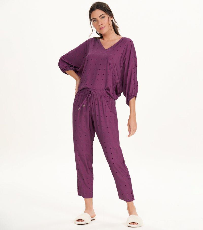 Pijama Manga Longa - 11160