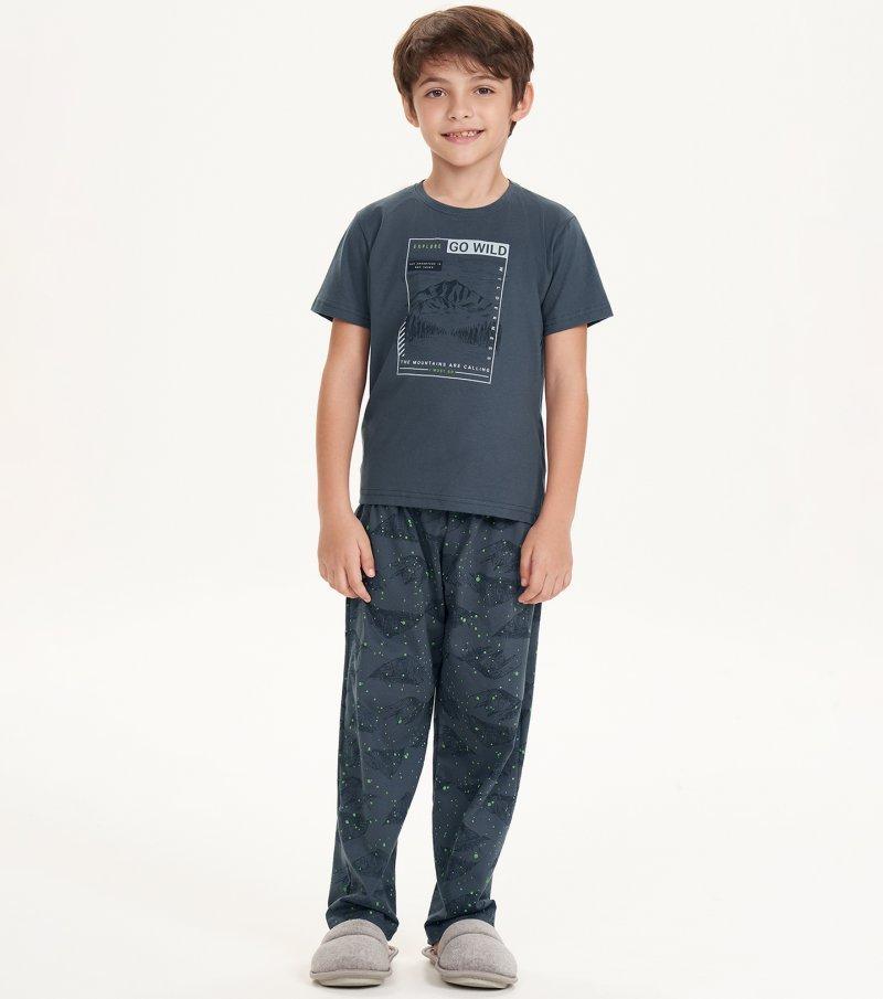 Pijama Manga Curta - 66389