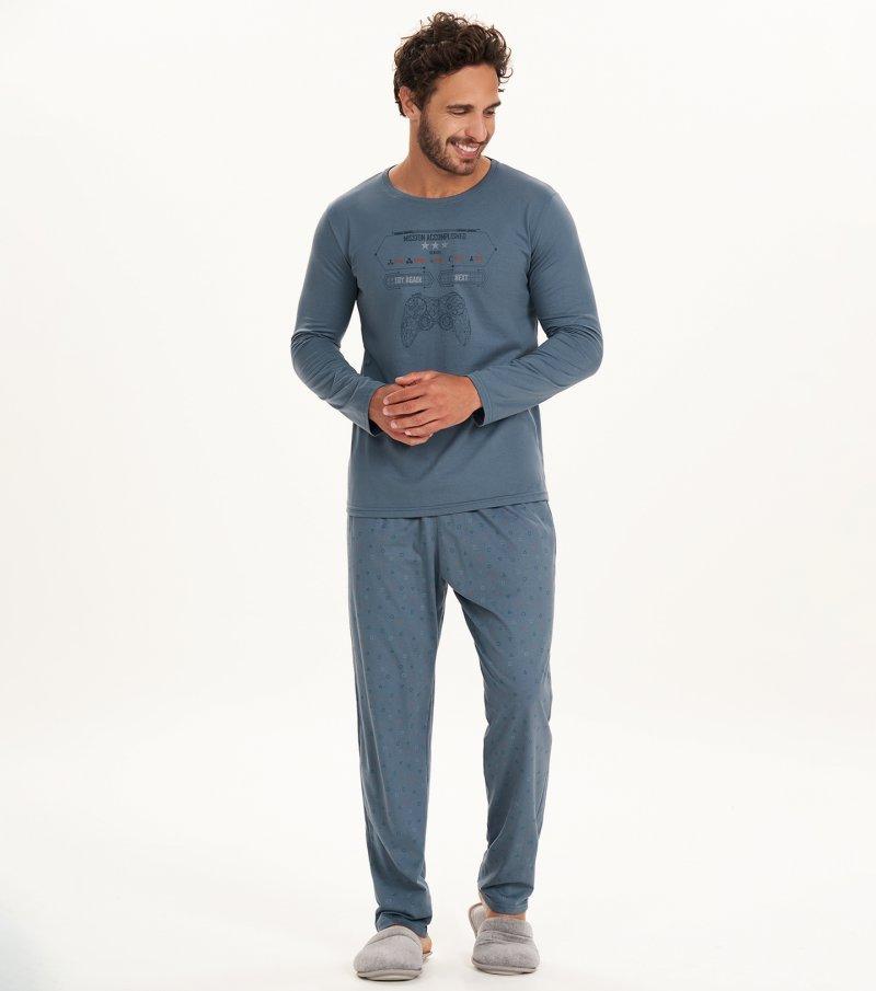 Pijama Manga Longa - 30073