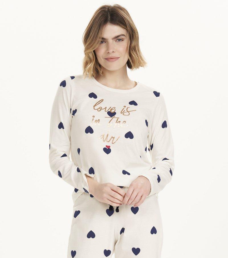Pijama Manga Longa - 12498