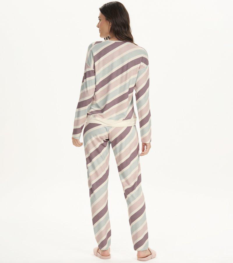 Pijama Manga Longa - 12662