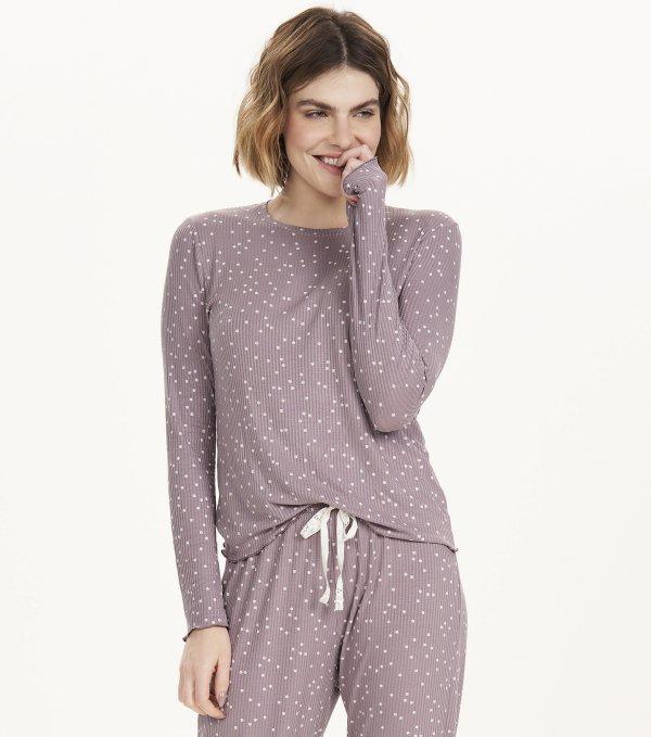 Pijama Manga Longa - 12684