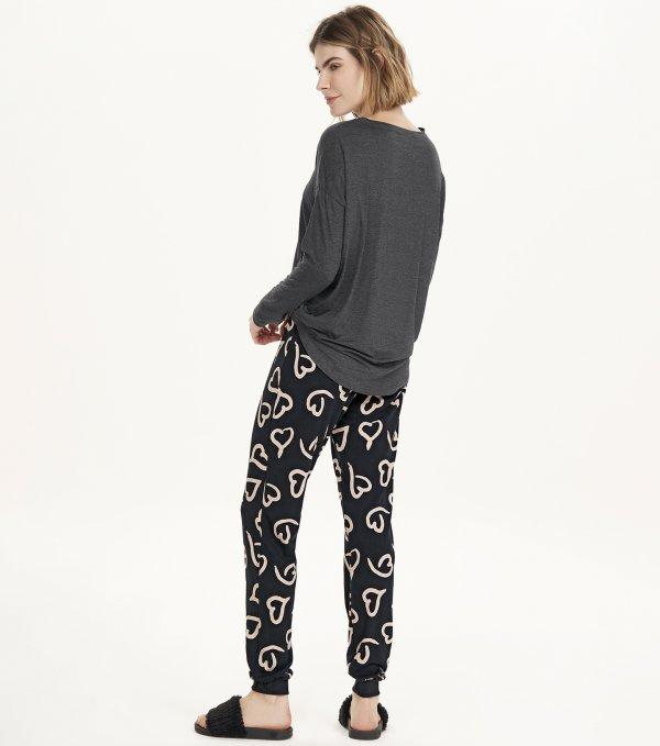 Pijama Manga Longa - 12695