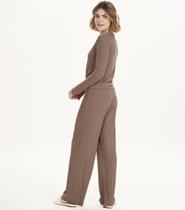 Pijama Manga Longa - 12537