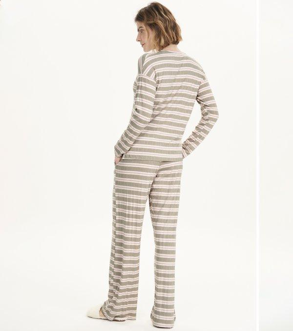Pijama Manga Longa - 12534
