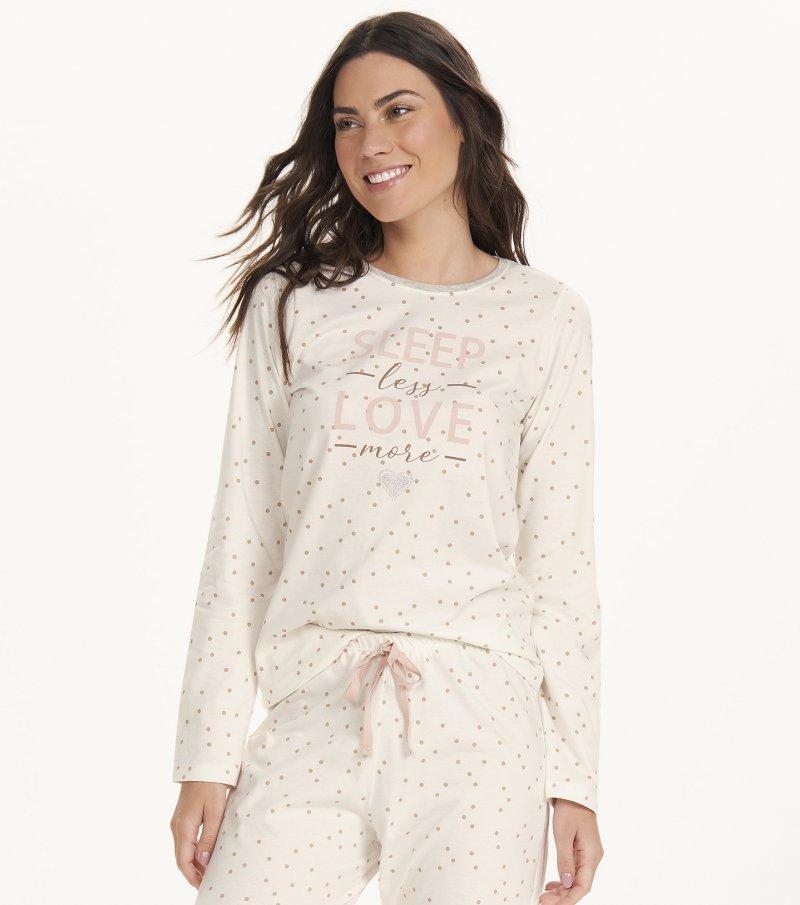 Pijama Manga Longa - 12659