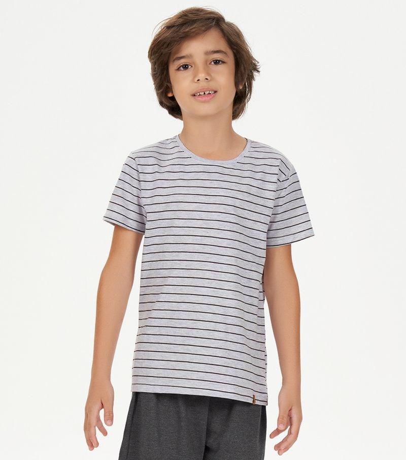 Pijama Manga Curta Infantil - 66393
